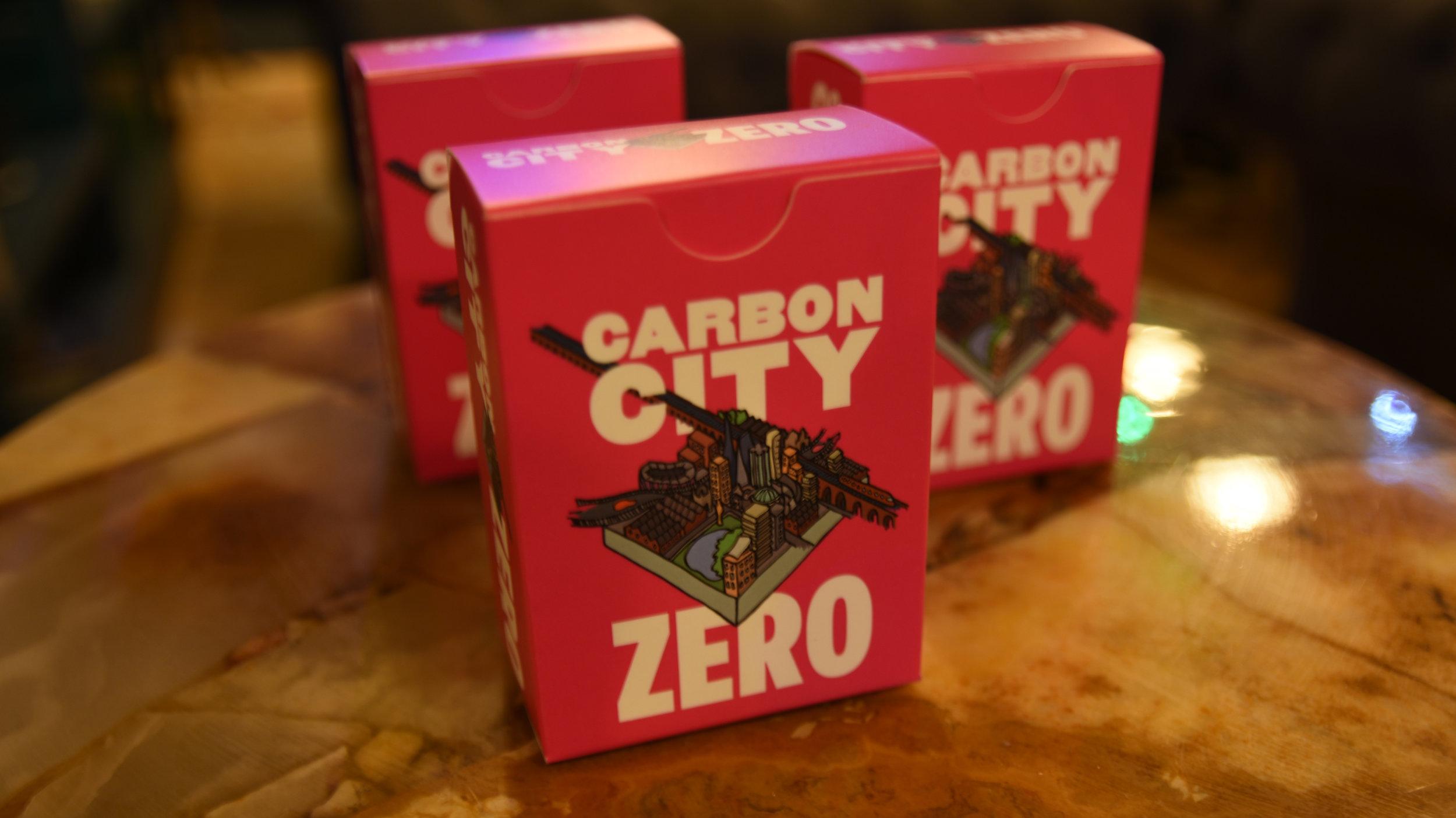 carbon city zero game. link: carbon city zero.