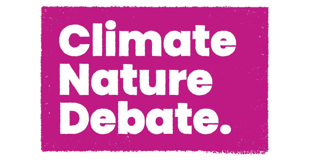 climate nature debate logo