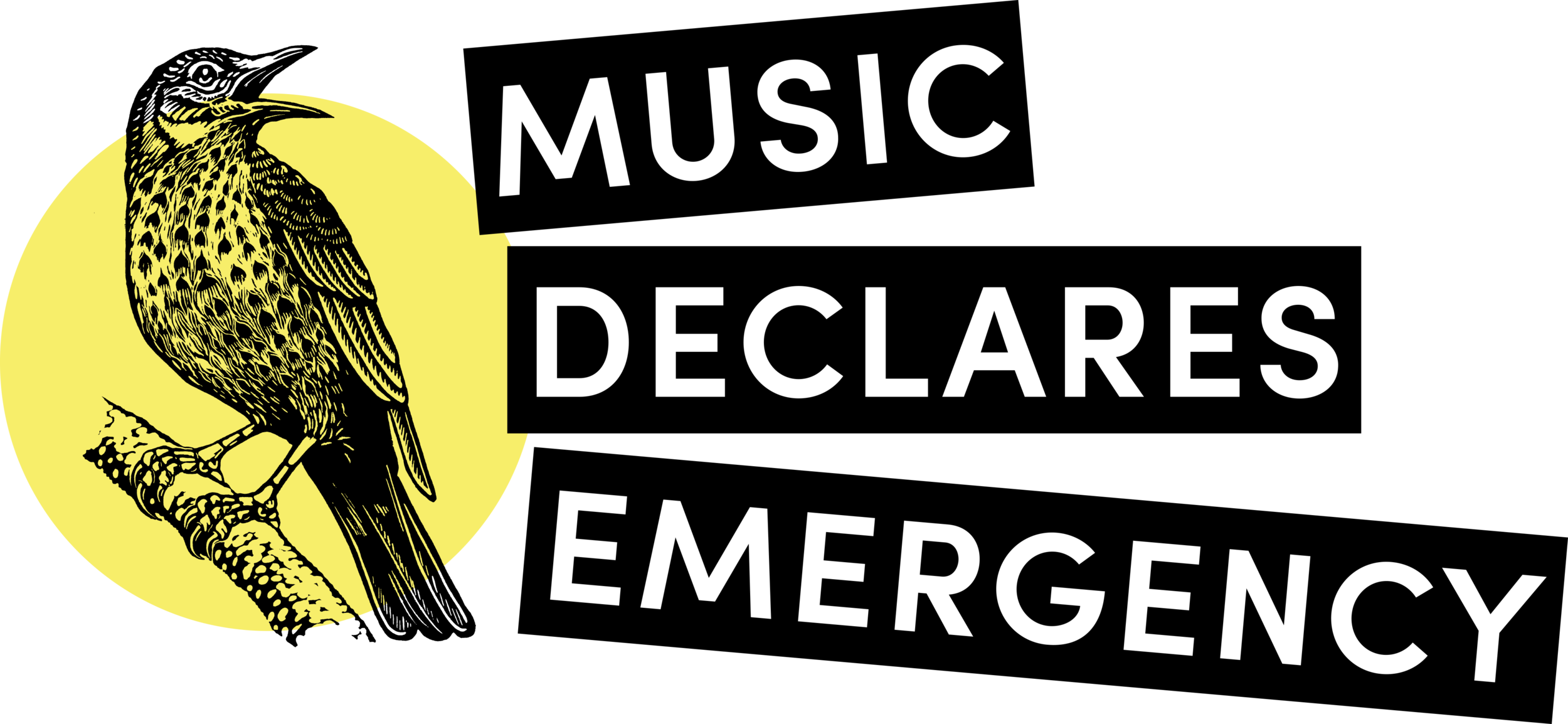 music declares emergency logo