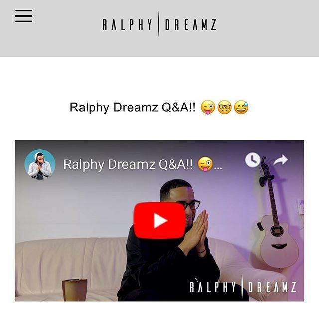 Entra a Www.RalphyDreamz.com para que sea primero o primera en ver este vídeo ! Gracias a todos que me enviaron preguntas y a la personas que no me hicieron pregunta pero me enviaron bendiciones amen 🙏🏽 gracias los quiero! ❤️ #RalphyDreamz #Youtube #Bachata #Bachata  a las 12:30 la subo a mi canal de YouTube 😃