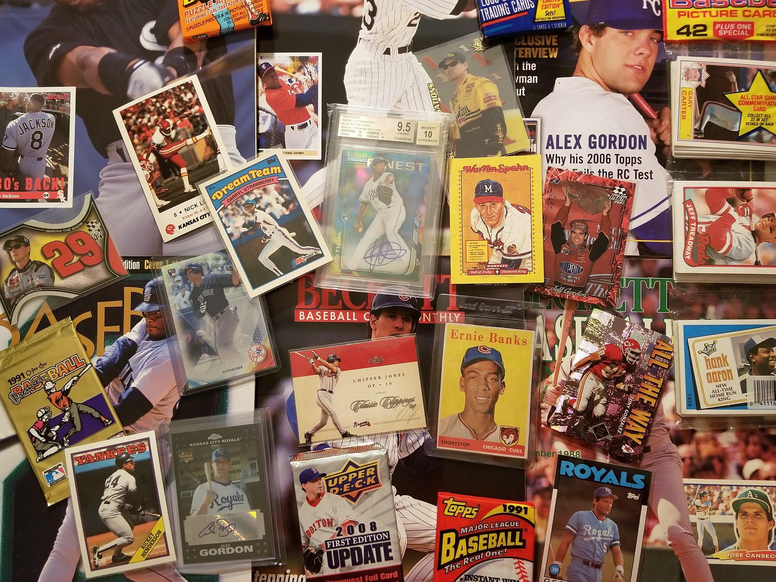Baseball Card Collection  High level CCs from Sir Egons Baseball Shack
