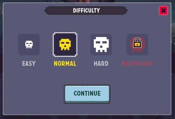 Zone Difficulties