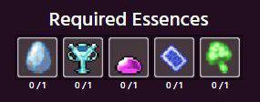 Essences to summon Raids