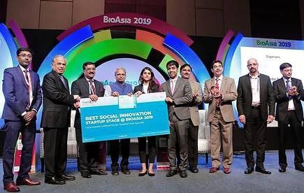 Best Social Innovation Award: BioAsia 2019