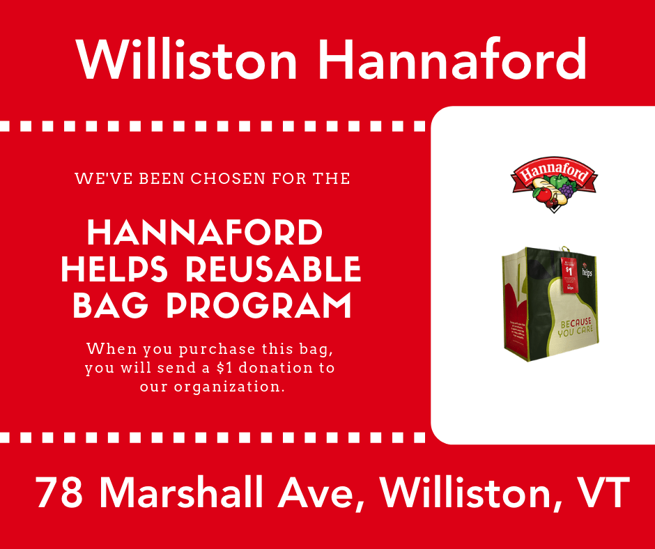 - HANNAFORD HELPS REUSABLE BAG PROGRAMAll of September 2019Williston Hannaford