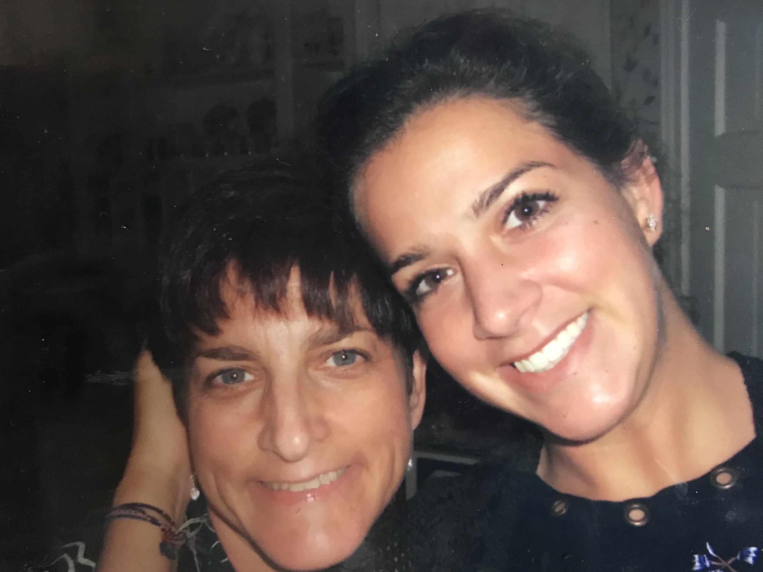 My lovely Mother and me in July of 2007.