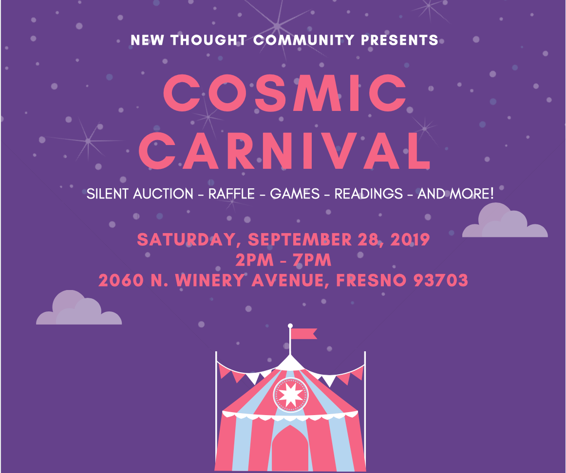 - Join us for our annual Cosmic Carnival this Saturday!