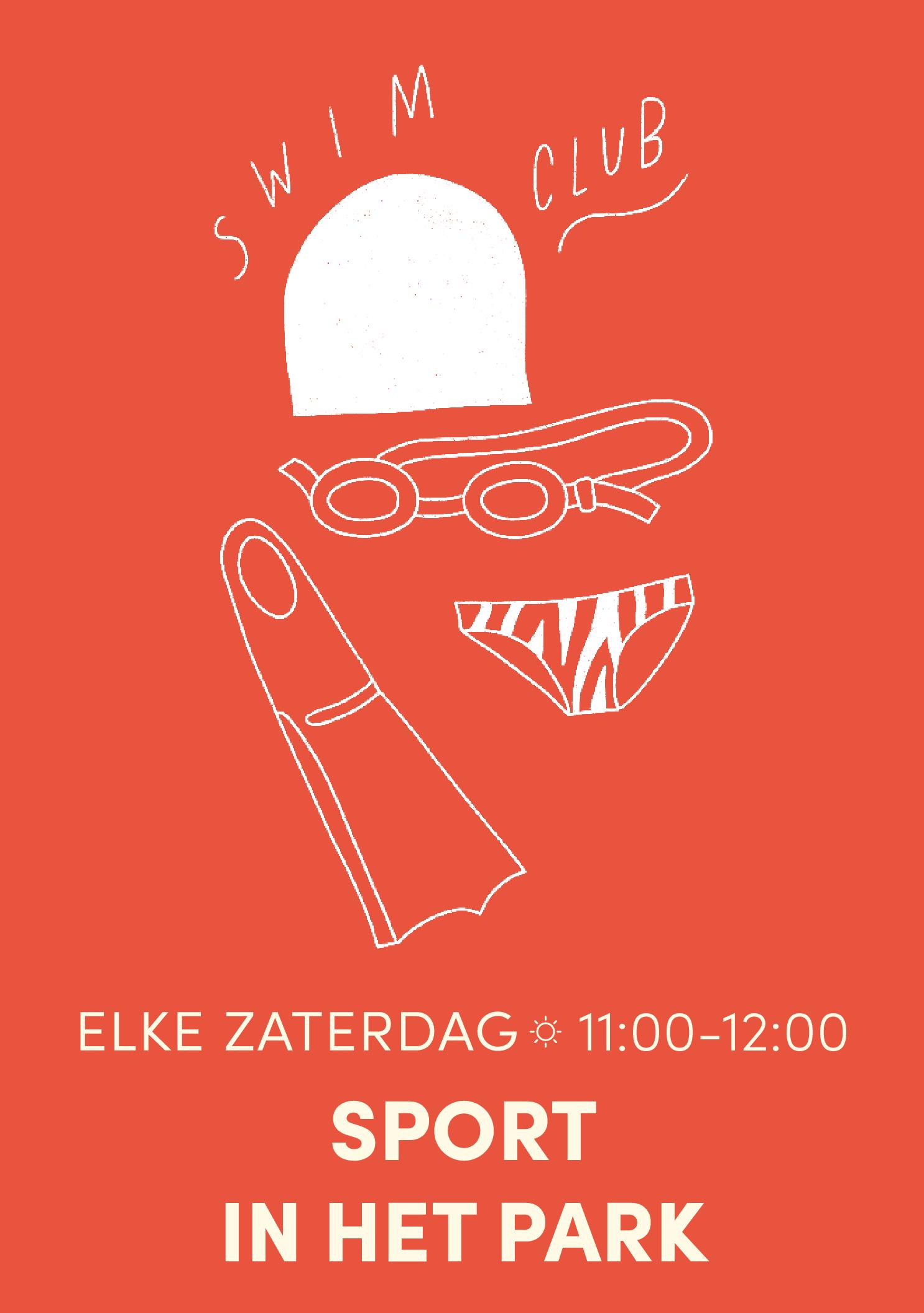 ELKE ZATERDAG:  SPORT IN HET PARK