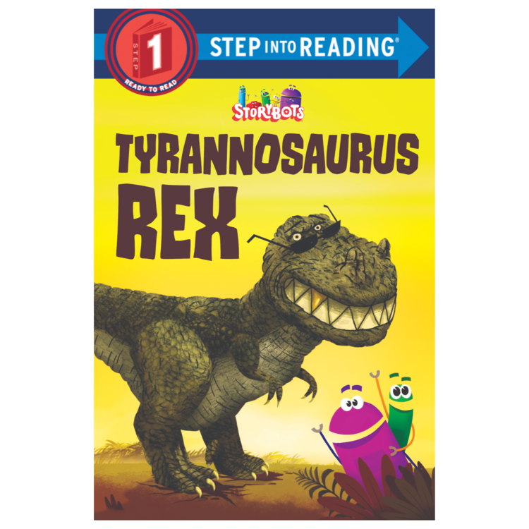 "TYRANNOSAURUS REX - Paperback: 32 pagesSize: 6 x 9 inchesA gigantic body and super-sharp teeth make the Tyrannosaurus Rex the most fearsome of the dinosaurs. Just don't make fun of those tiny arms! This rhyming Step 1 Science Reader will entertain while sharing facts about the most popular carnivorous dinosaur of all. Fans will recognize the colorful art from the hugely popular ""Tyrannosaurus Rex"" video."