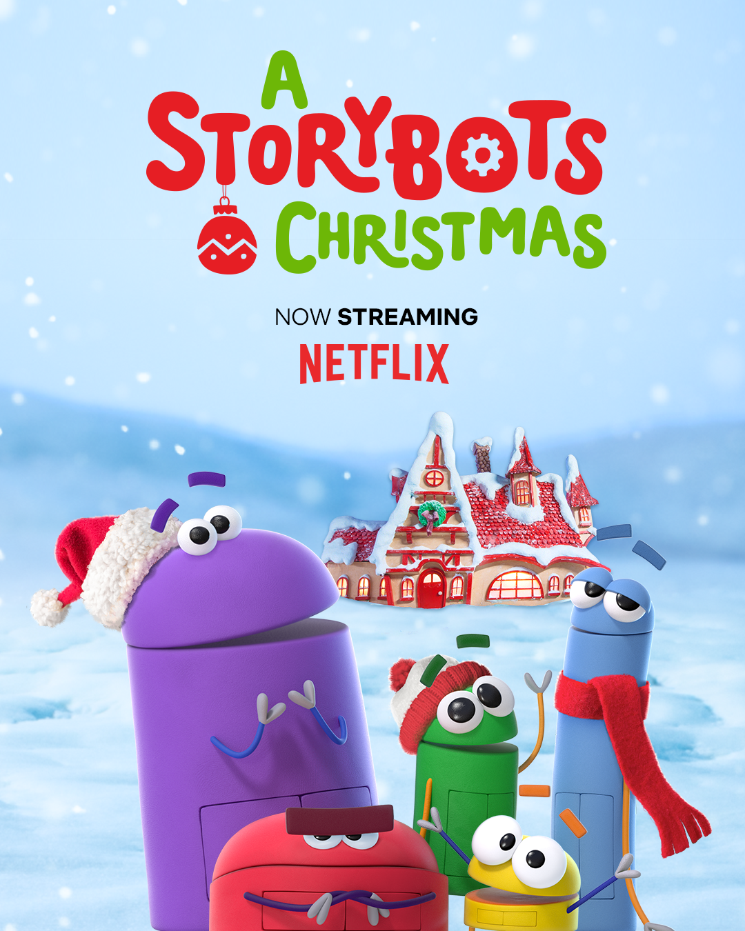 A STORYBOTS CHRISTMAS - In this Emmy Award-winning holiday special, the StoryBots head to the North Pole on an adventure to get help making better gifts… and end up learning from Santa Claus (guest star Ed Asner) that Christmas is about far more than just toys and presents.