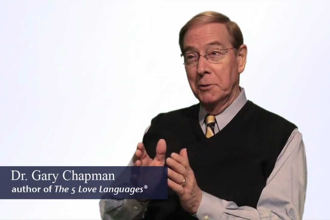 Dr. Gary Chapman of  Five Love Languages . One of our teachers.