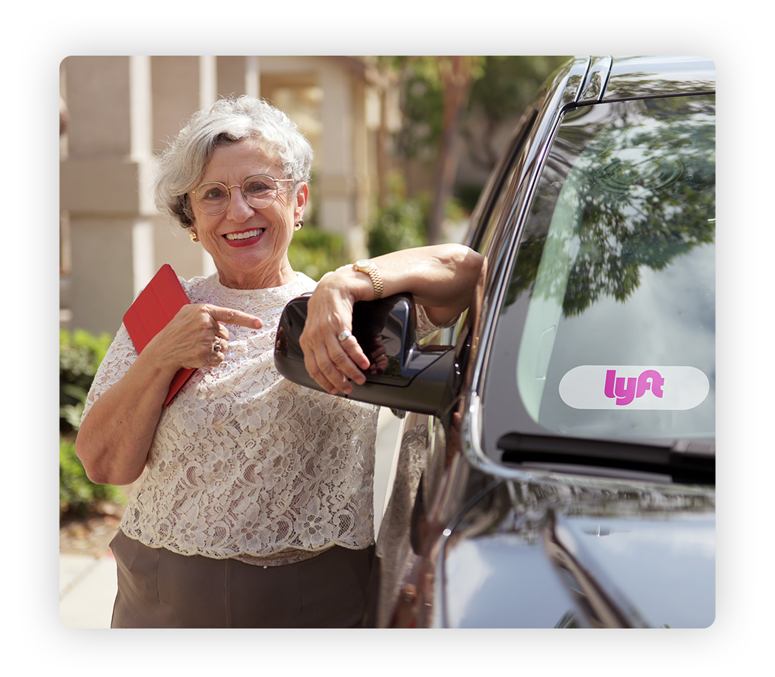 Get Them There - GrandPad and Lyft make it easy for seniors and their caretakers to request rides, empowering them with greater independence and freedom.