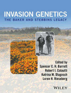 CHECK IT OUT! An outstanding collection of work in our field: - Barrett SCH, Colautti RI, Dlugosch KM, Rieseberg LH (eds) (2017) Invasion Genetics: The Baker and Stebbins Legacy. John Wiley & Sons.Includes: Dlugosch KM, Parker IM (2017) Introduction: Evolutionary Ecology. pp 21–24.