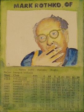 Mark Rothko Baseball Card