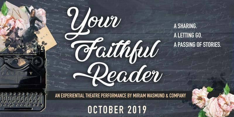 MIRIAM WASMUND AND COMPANY - October 10-12 8pm