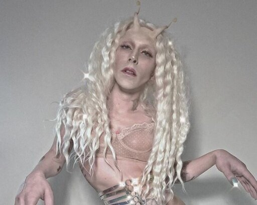 Jeff Poulin asSP▲CEB▲BE - Jeff Poulin, the NYC-based drag artist and performer, created Spacebabe in 2016 for the famed BUSHWIG festival You can currently catch Spacebabe at a number of shows, most notably her monthly party The Sunday Aesthetic with Spacebabe, the first Sunday of each month at Sanger Hall in Sunnyside Queens.
