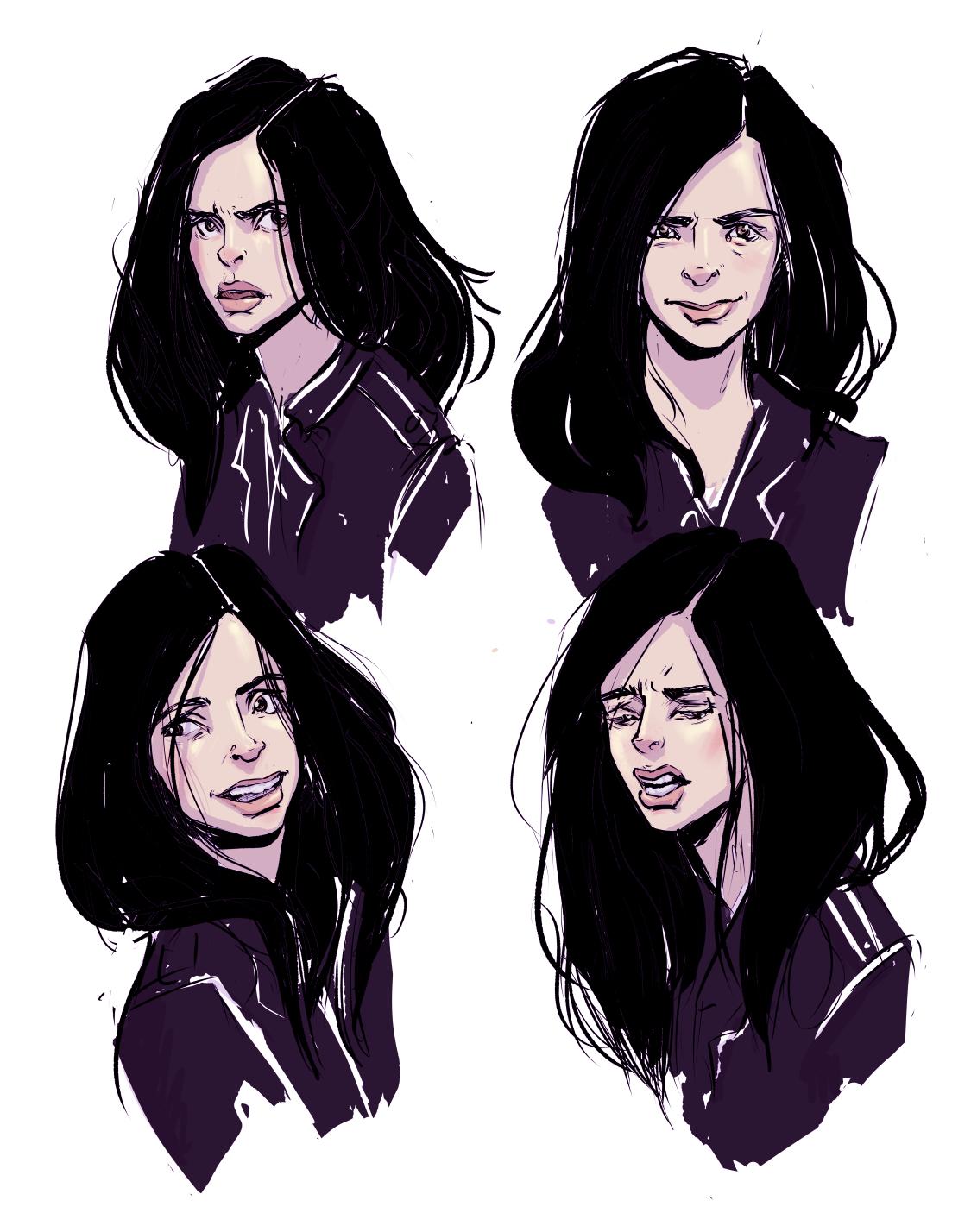 Jessica Jones studies.jpg