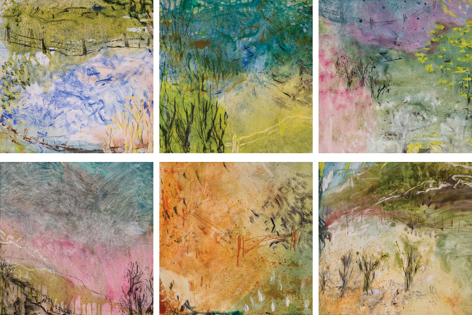 Impressionist Interpretation + Moon And Dust [series]