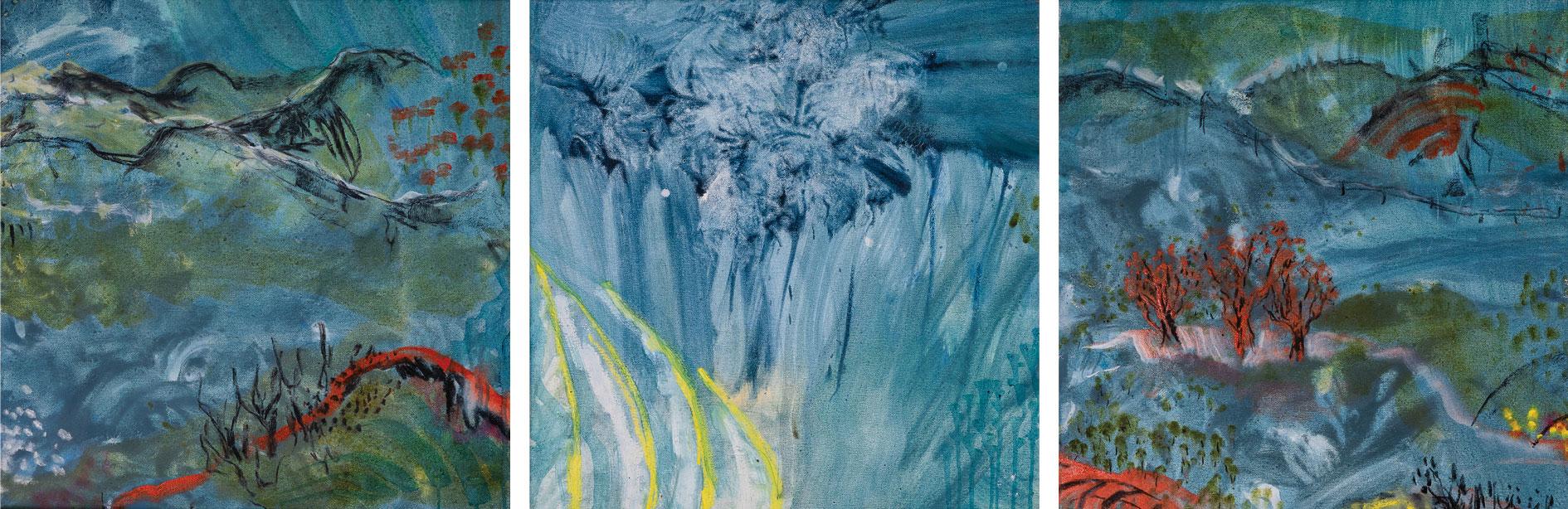 Smokey Gums Under Blanket Blue [series]