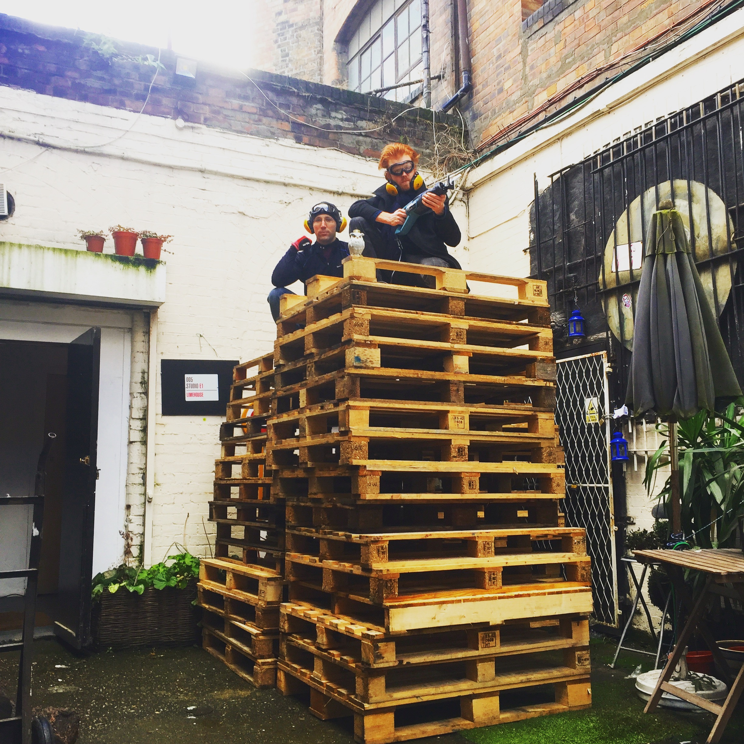 We built our first pop-up our of recycled pallets and a team of amazing interns. That scrappy, maker spirit is the lifeblood of what we do.