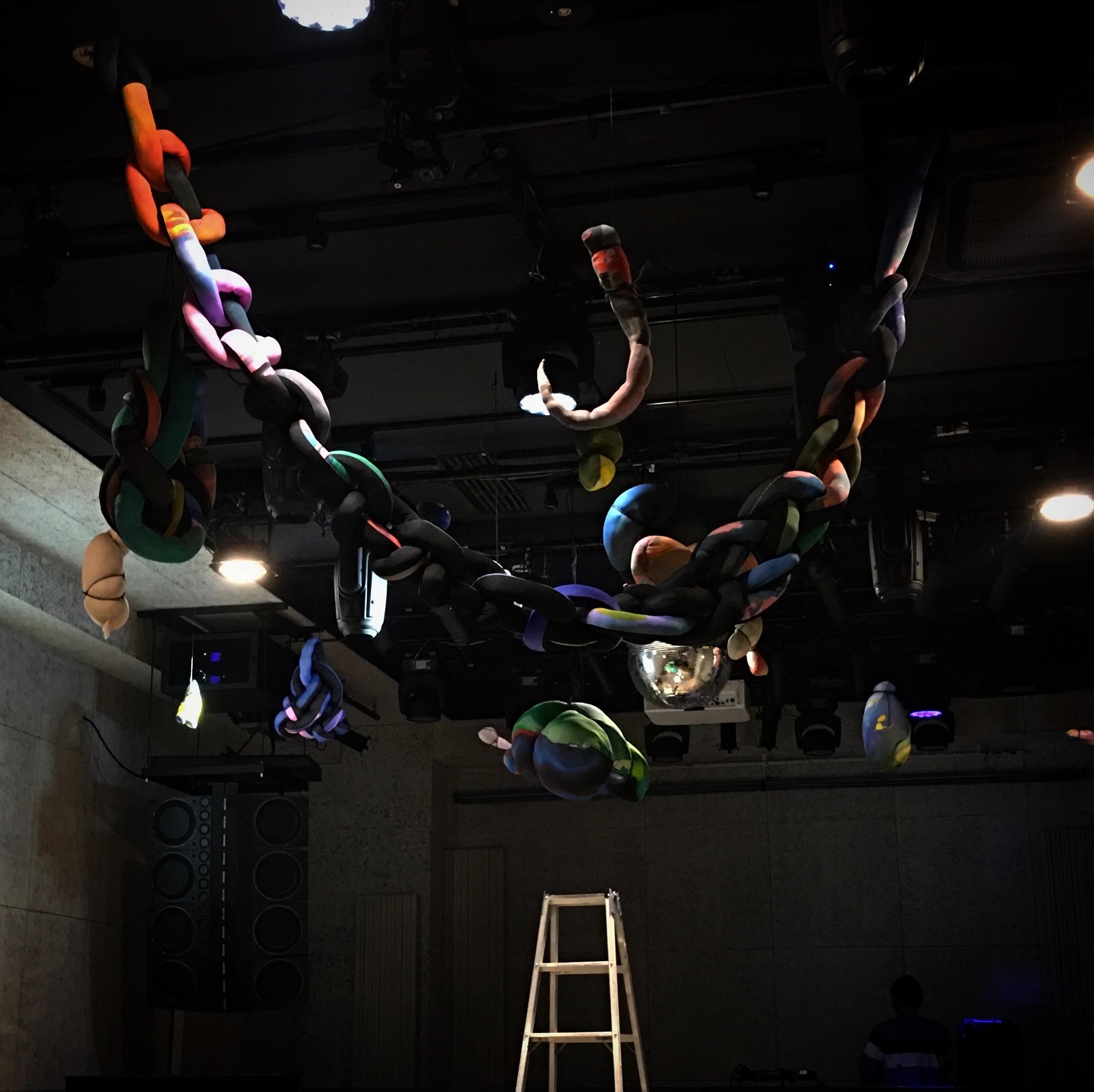 Installation in VENT TOKYO