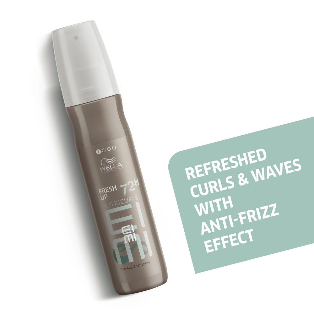 Wella Professionals Eimi Nutricurls Fresh Up 72h Anti Frizz Spray 150ml Blondee