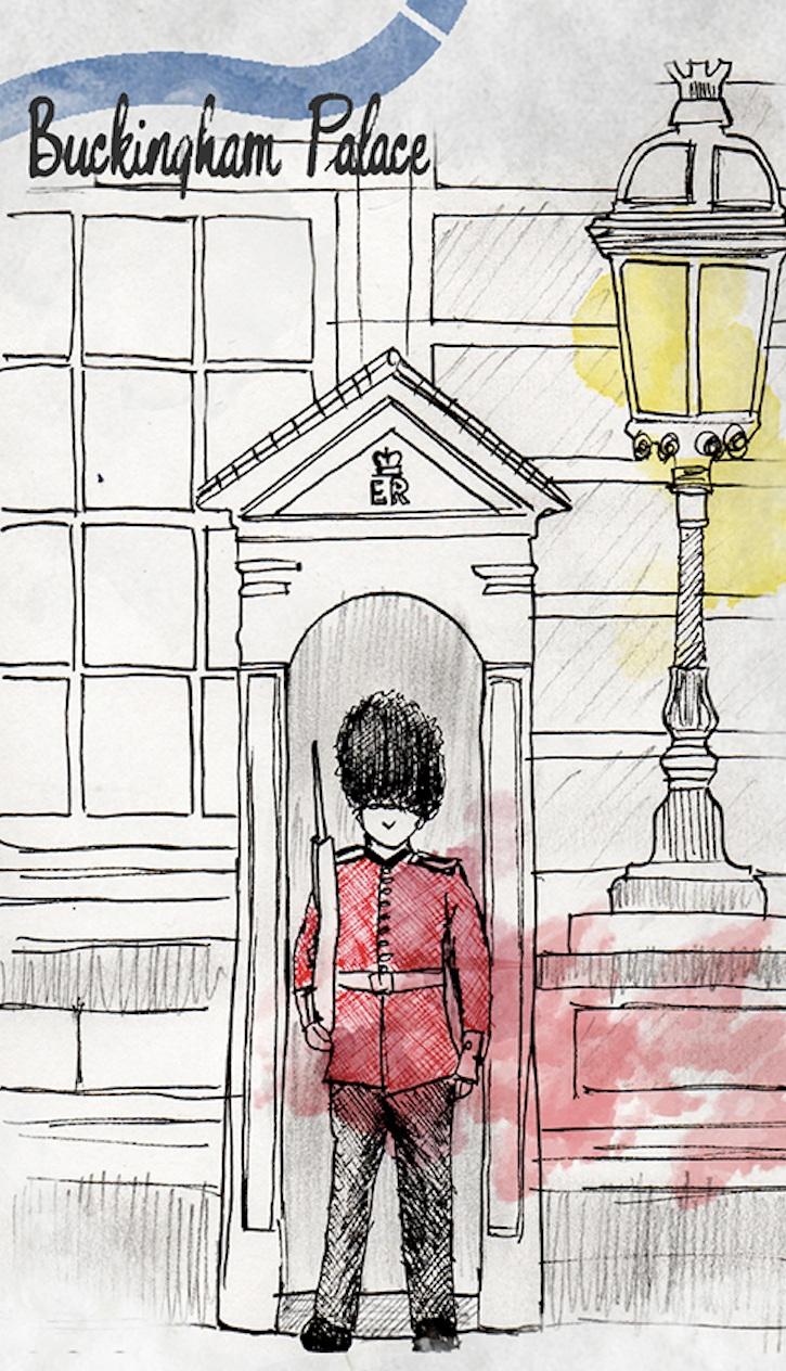 The Guard, Buckingham Palace