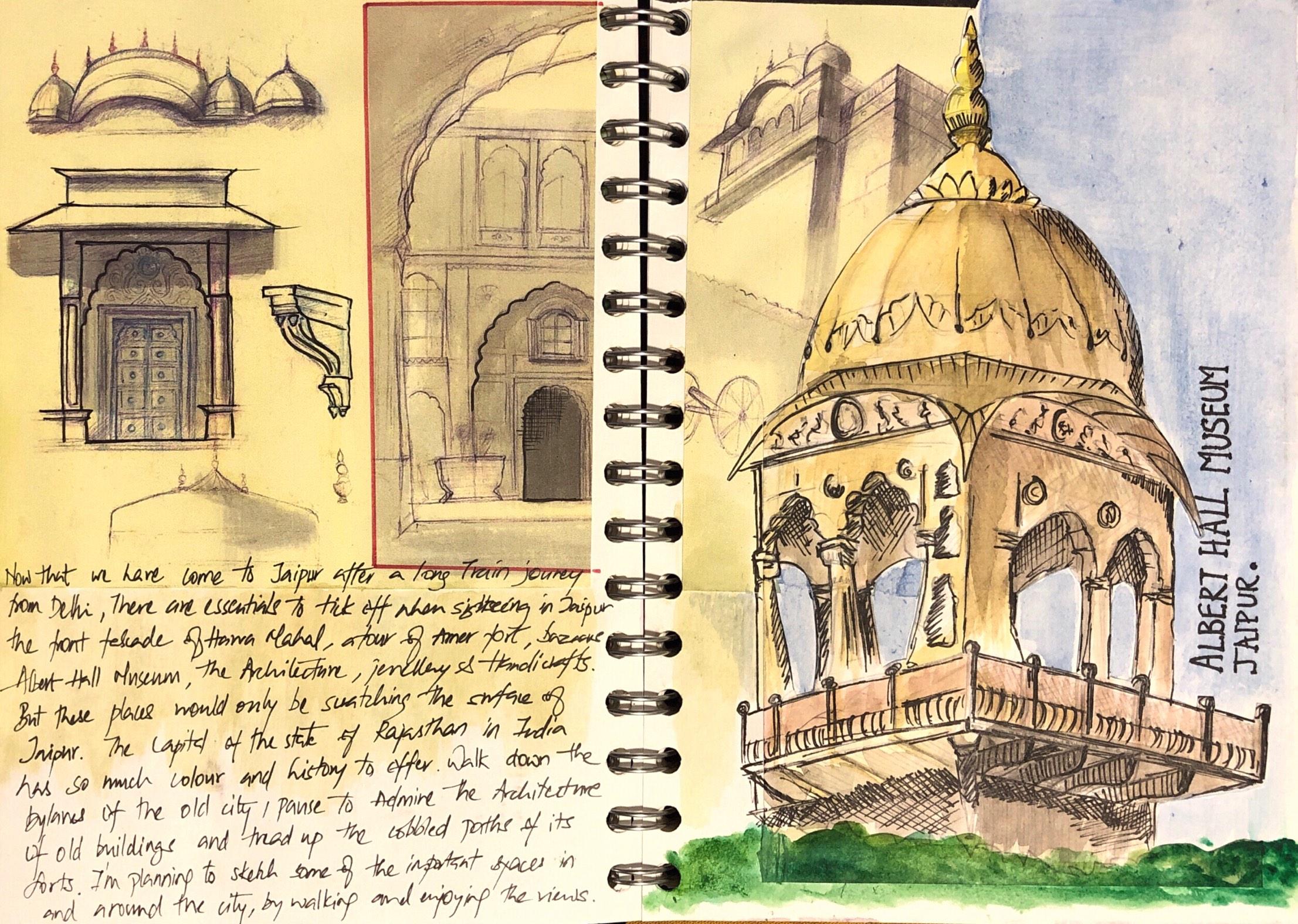 Albert-hall-jaipur-architecture-sketch-sooraj.jpg