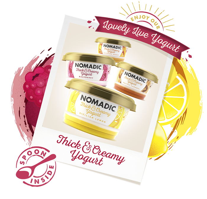 Thick and Creamy Yogurt - Nomadic Dairy, makers of lovely live yogurt