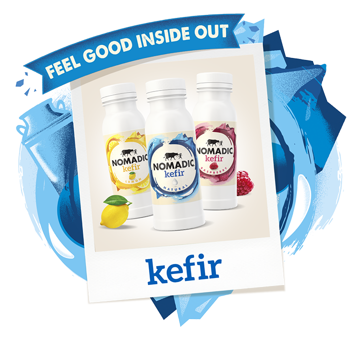 Kefir - Nomadic Dairy, makers of lovely live yogurt