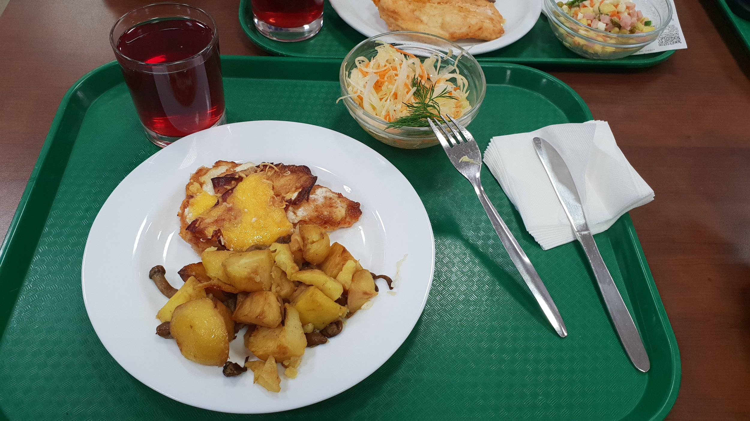Lunch at MGIMO