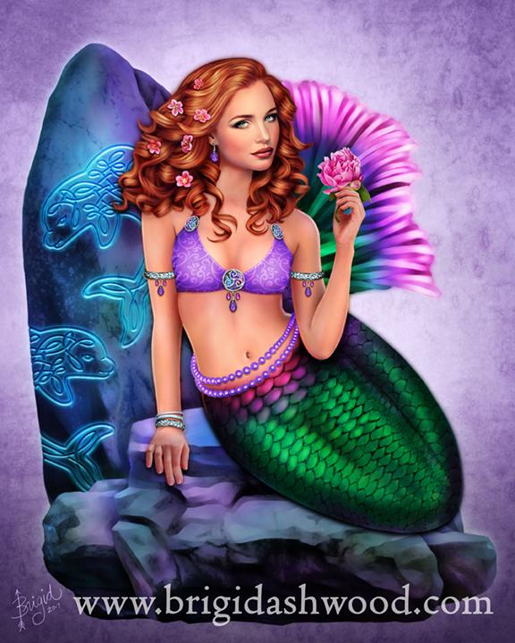Mermaid Visions: Celtic Stone