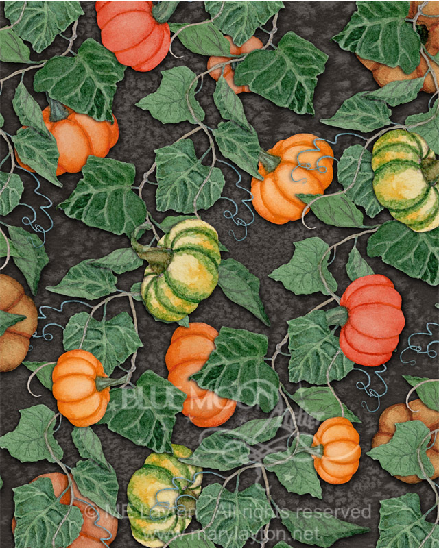 PUMPKIN PATCH PATTERN by MARY LAYTON