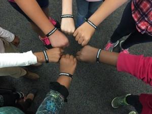 Allen Elementary Students #friendshipiscolorblind