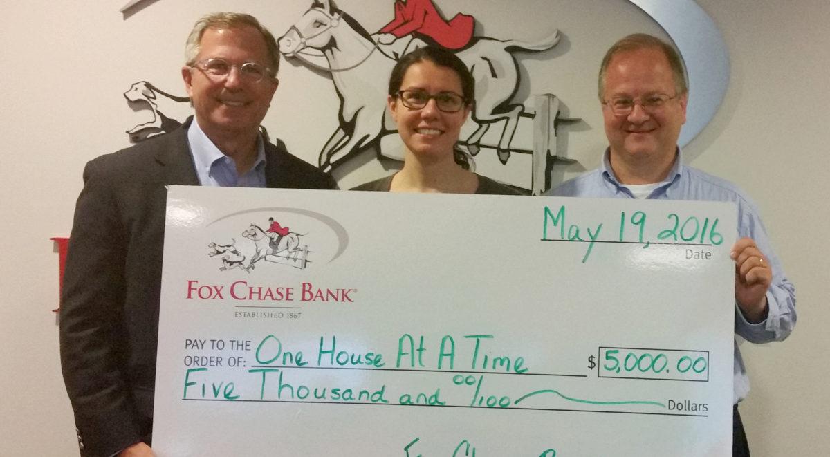 Fox Chase Bank Grants OHAAT $5,000