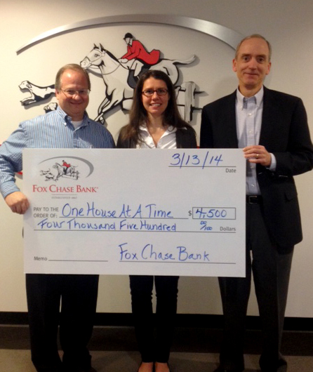 Fox Chase Bank Supports Beds for Kids
