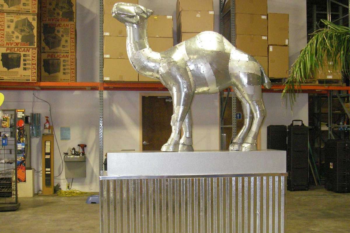 Atlanta Props™ Custom Event and Display Props -  Metal Camel