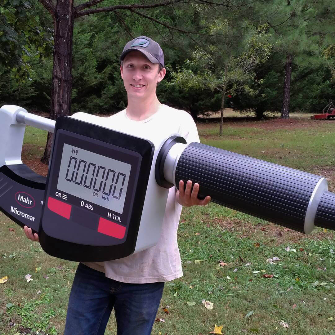 Atlanta Props™ Custom Oversized Props - Giant Micrometer for Corporate Display