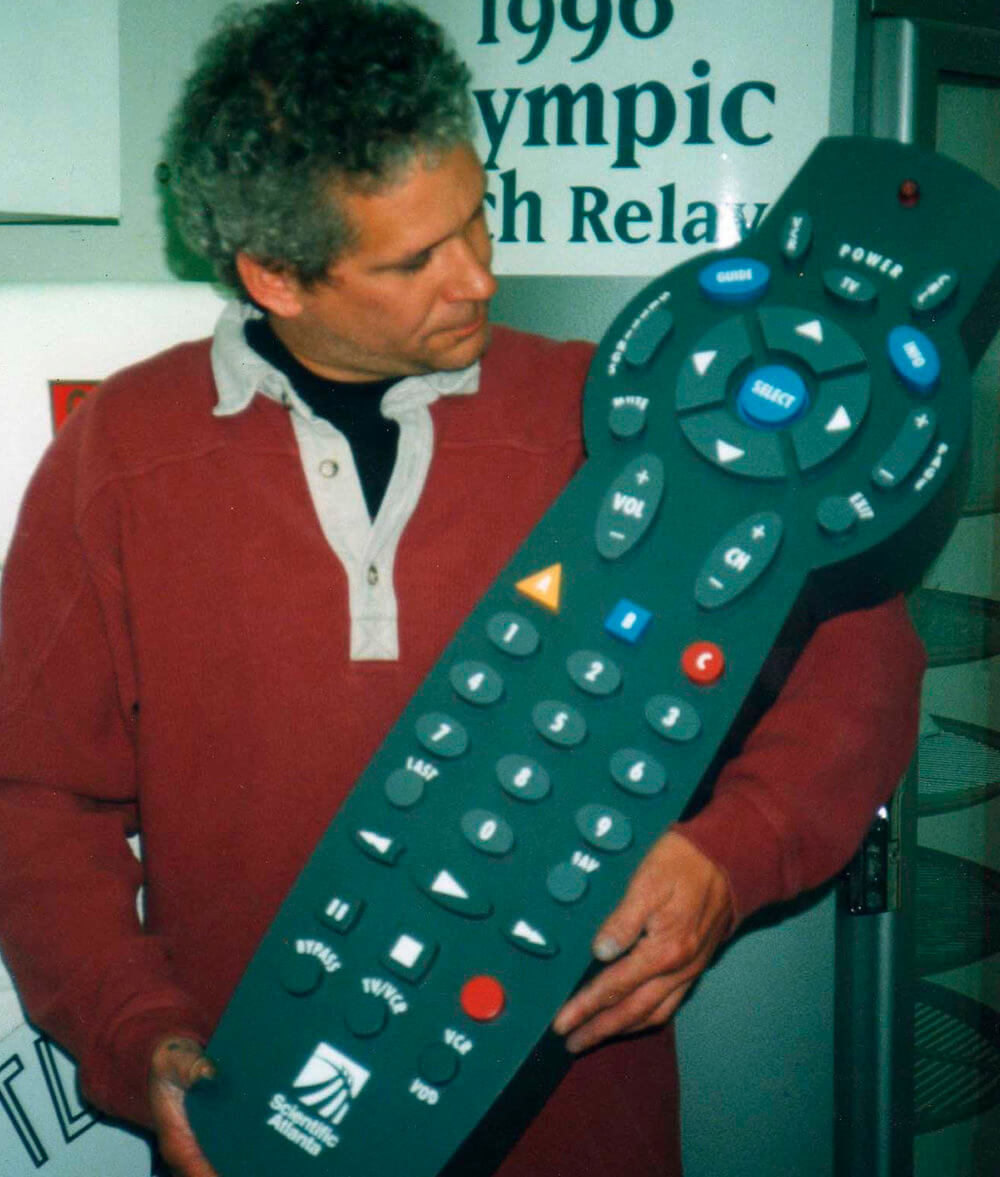 Atlanta Props™ Custom Oversized Props - Giant TV Remote