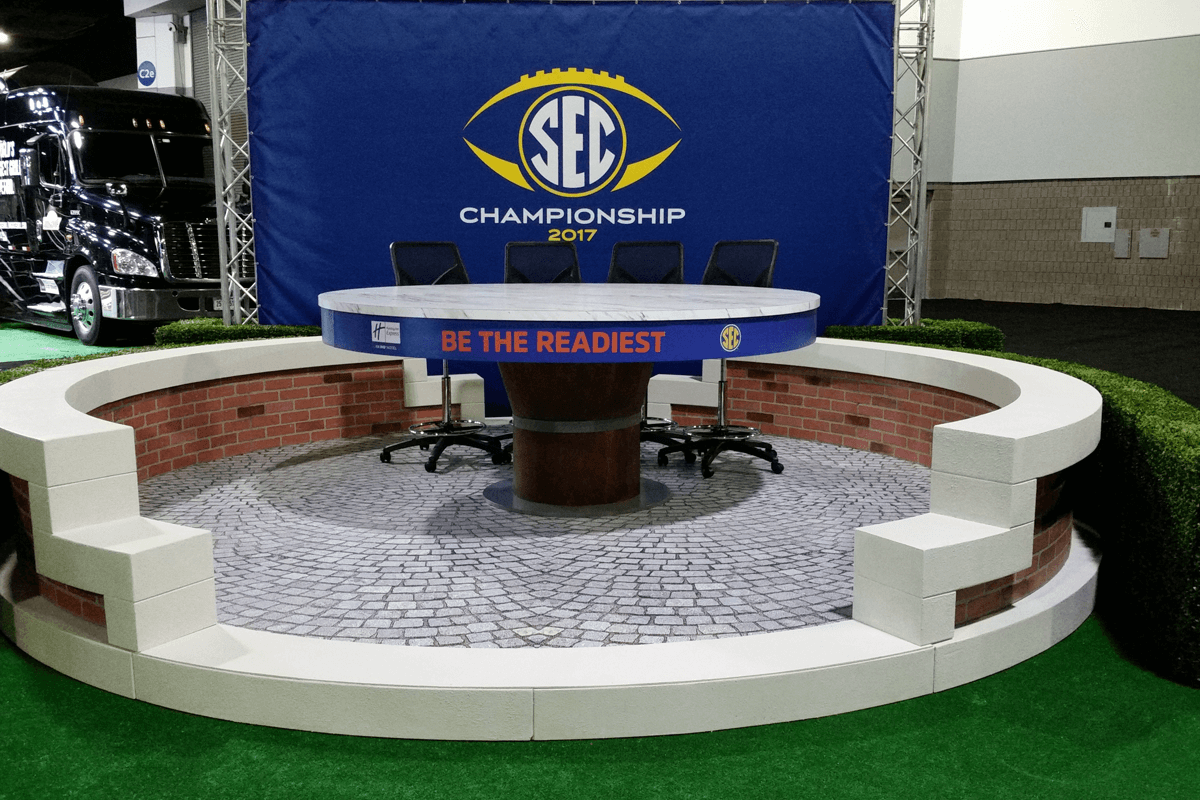 Atlanta Props™ Custom Event and Display Props - SEC Championship