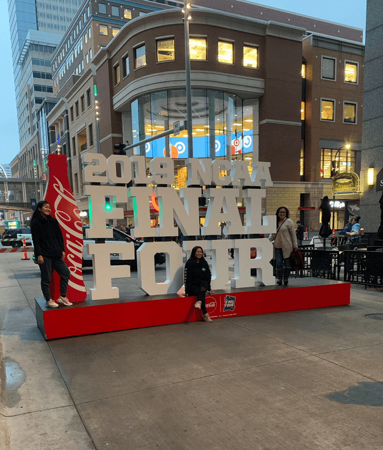 Atlanta Props™ Custom Event and Display Props - 2019 NCAA Final Four