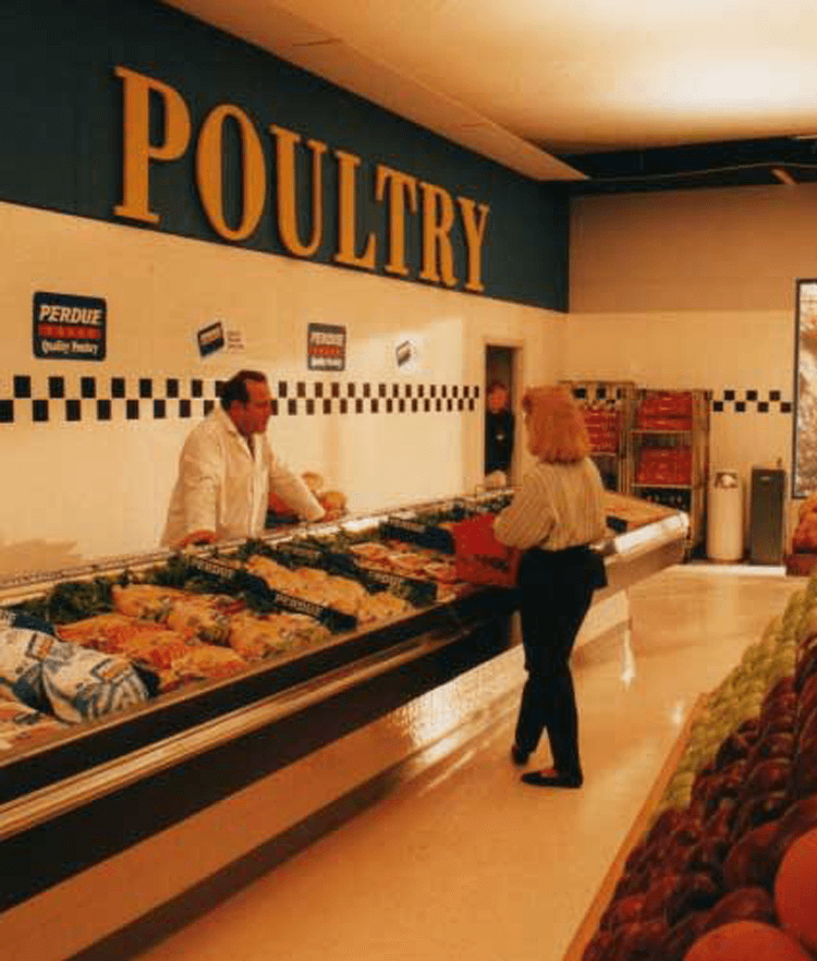 Atlanta Props™ Custom Set and Stage Props - Grocery Store Set for Perdue Chicken Commercial
