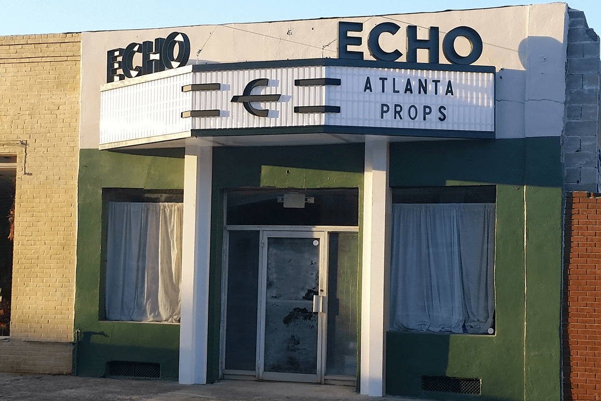 Atlanta Props™ Custom Set and Stage Props - Marquee for Movie