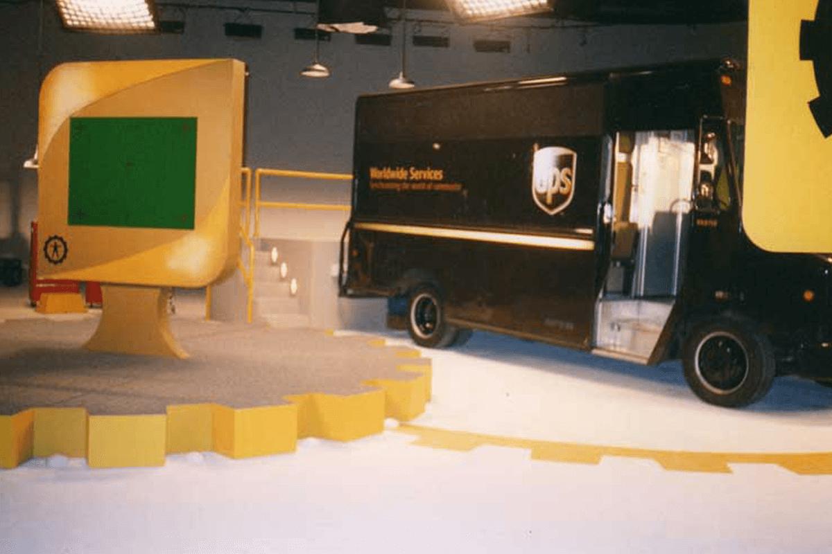 Atlanta Props™ Custom Set and Stage Props - UPS Custom Film Set