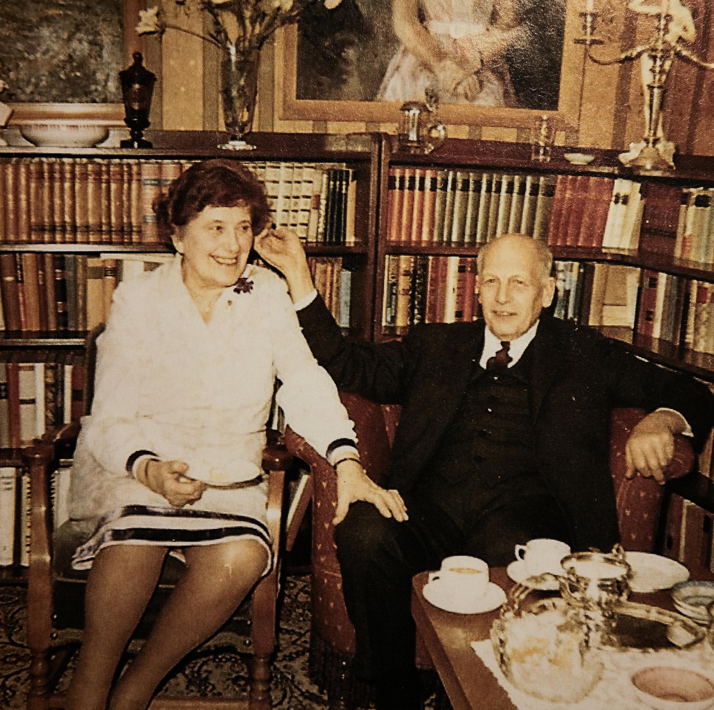 Haugen var gift tre gonger. Her med den tredje kona, Andrea.