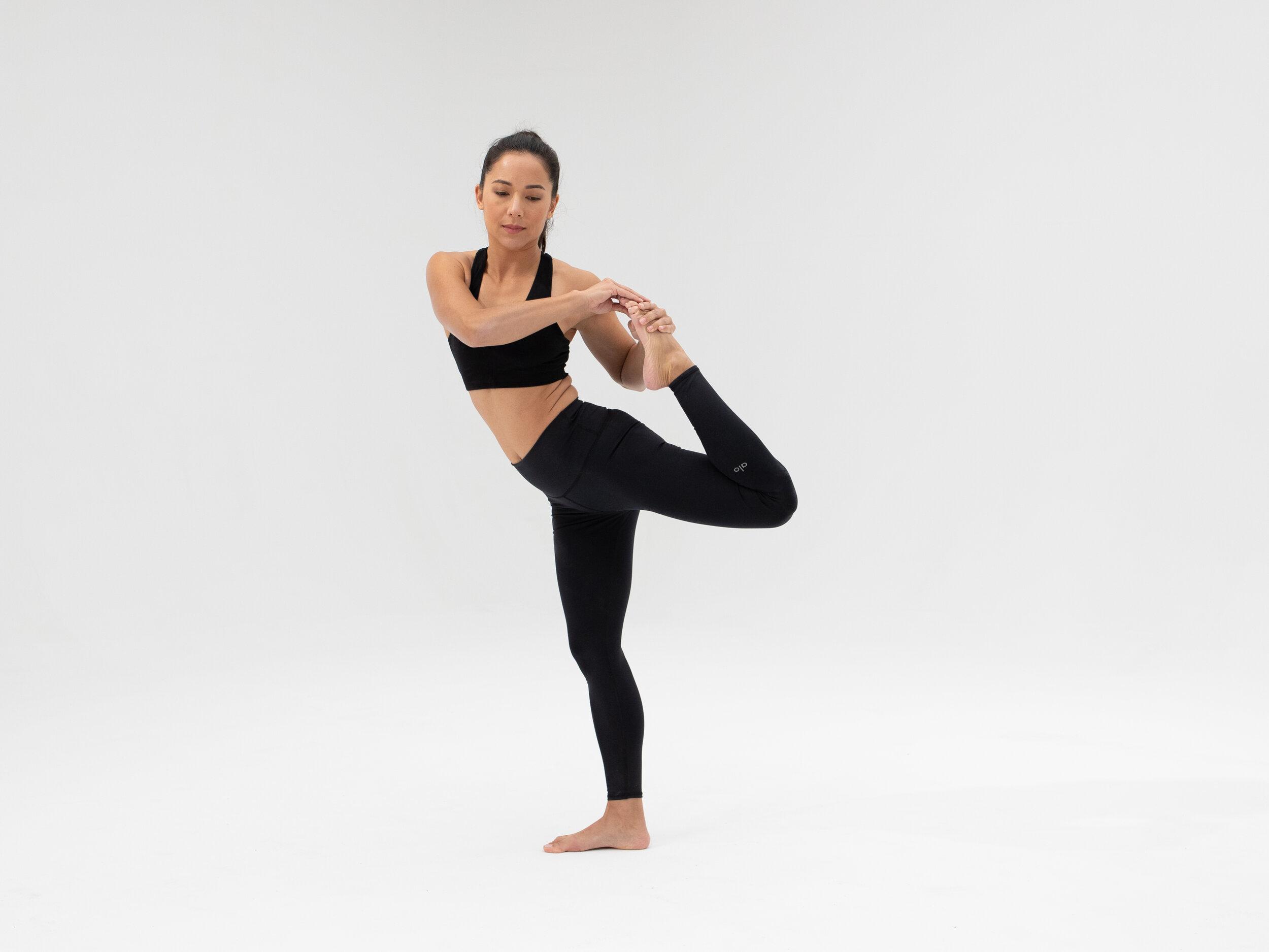 How to do Dancer Pose   Yoga Tutorial — Alo Moves