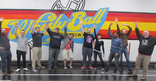 #TBT to last week when the Platform team got together for some WhirlyBall fun!