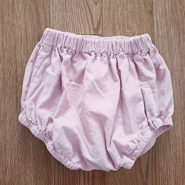 For SALE - MOP bunny nose (courdroy) pink bloomers - 2-3 - £10 posted