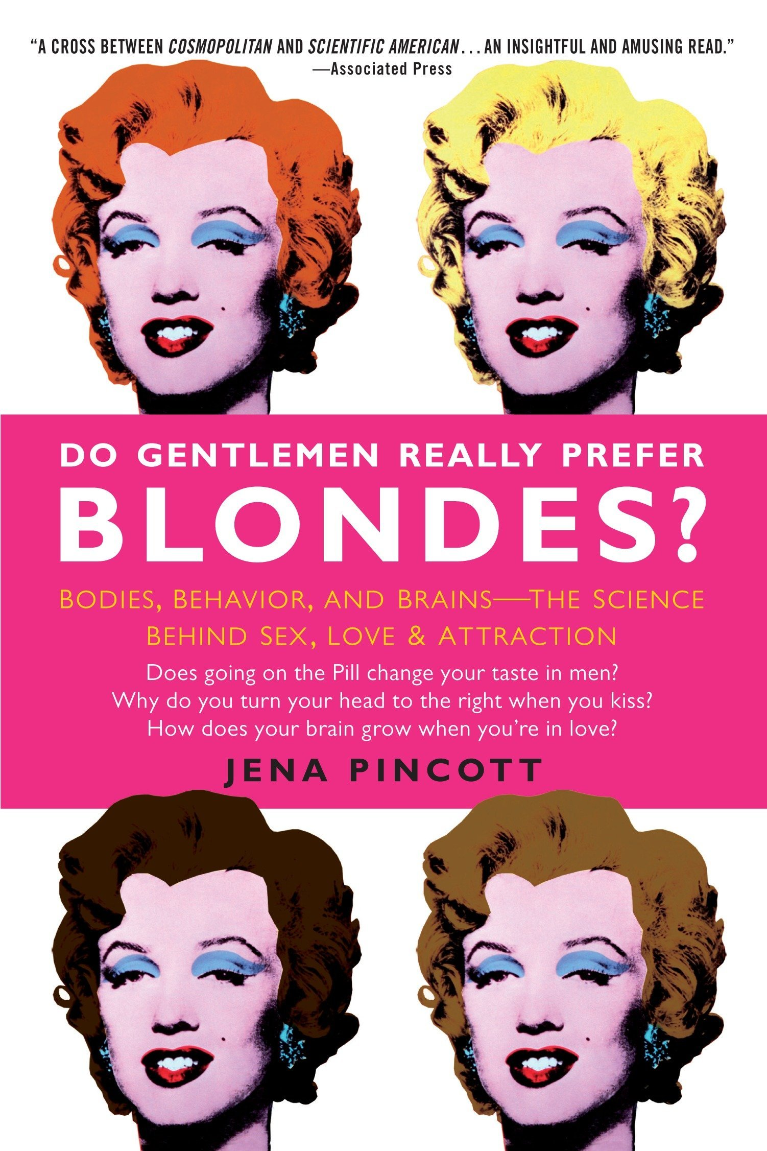 """Do Gentlemen Really Prefer Blondes?: The Science of Love, Sex & Attraction - """"""""Playfully written scientific anecdotes."""" – Publishers Weekly, starred reviewDoes the Pill change change your taste in men?Why do you turn your head to the right when you kiss?How does your brain grow when you're in love?If you've ever wondered how scientists measure love—or whether men really prefer blondes over brunettes—this smart, sexy book provides real answers to these and many other questions about our most baffling dating and mating behaviors. Based on the latest research in biology, evolutionary psychology, neuroscience, and cognitive science, Do Gentlemen Really Prefer Blondes? dares to explain the science behind sex—and opens a fascinating window on the intriguing phenomenon of love and attraction. Covering the areas of bodies, brains, and behavior, this eye-opening guide reveals the genetic, hormonal, and psychological secrets behind what makes us tick sexually. For example, do you know why a man's body chemistry and behavior change when he's in a committed relationship? And why, when he becomes a daddy, his testosterone level seems to plummet? And did you know…• When a couple first fall in love, their brains are indistinguishable from those of the clinically insane• You can tell a lot about a person's sexual chemistry just by looking at his or her hands• Your genes influence whose body odors you prefer• Being around breast-feeding women may increase a woman's sex driveViewed through the lens of science and instinct, your love life might be seen in a completely different way. Do Gentlemen Really Prefer Blondes? provides both an in-depth exploration into our sexual psyches—and fresh advice for men and women who want to discover the secrets of successful relationships."""