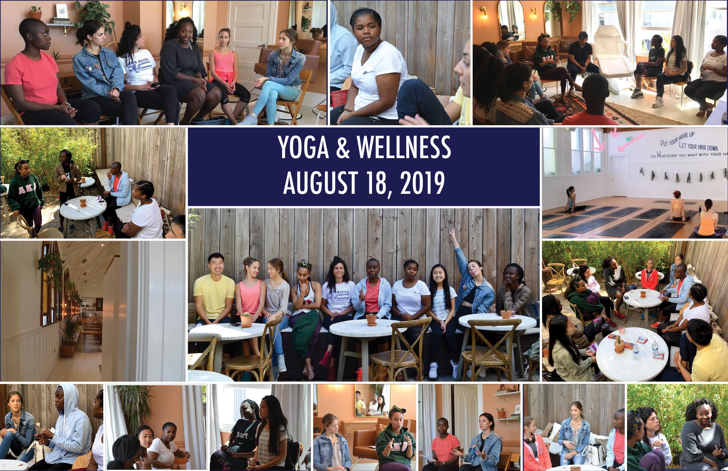 Zeeni Yoga Collage